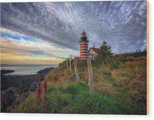 West Quoddy Head Light Station Wood Print