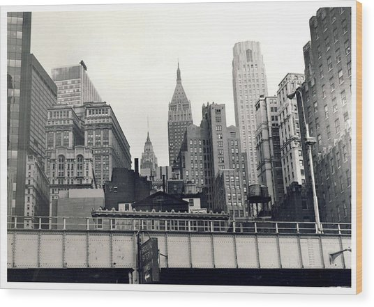 West Side Highway Wood Print