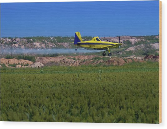 West Texas Airforce Wood Print