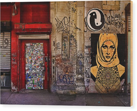 West Village Wall Nyc Wood Print
