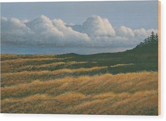 Westerly Wood Print