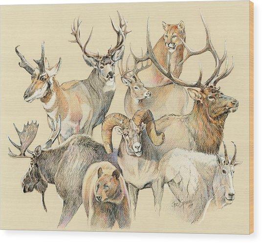Western Heritage Wood Print