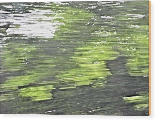 Westhampton's Blur Wood Print by Tim Doubrava