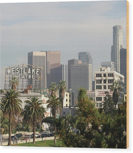 Westlake, Los Angeles Wood Print