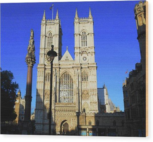 Westminster Abbey London England Wood Print