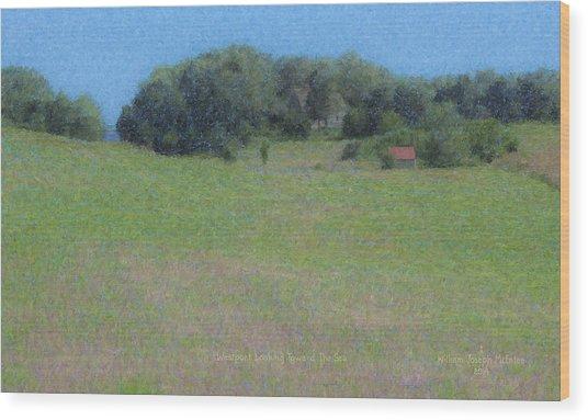 Westport Meadow Wood Print
