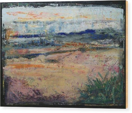 Westport River Dawn Wood Print
