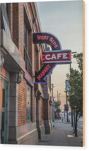 Westsidemarketcafe Wood Print