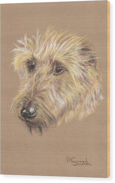 Wet Beard Wood Print