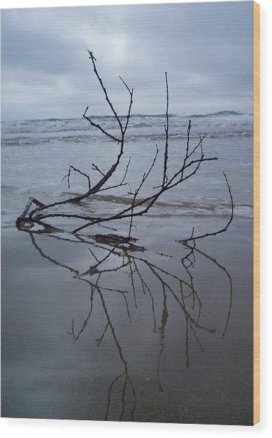 Wet Feet Wood Print