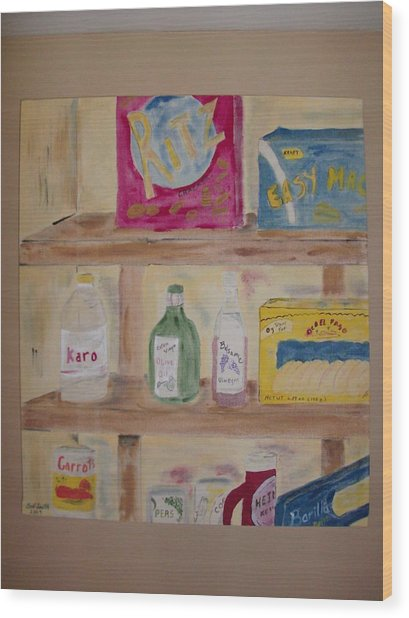 What's In The Pantry Painting By Bob Smith