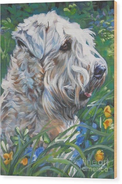 Wheaten Terrier Wood Print