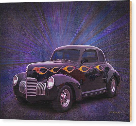 Wheels Of Dreams 2b Wood Print