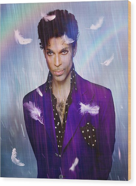 When Doves Cry Wood Print