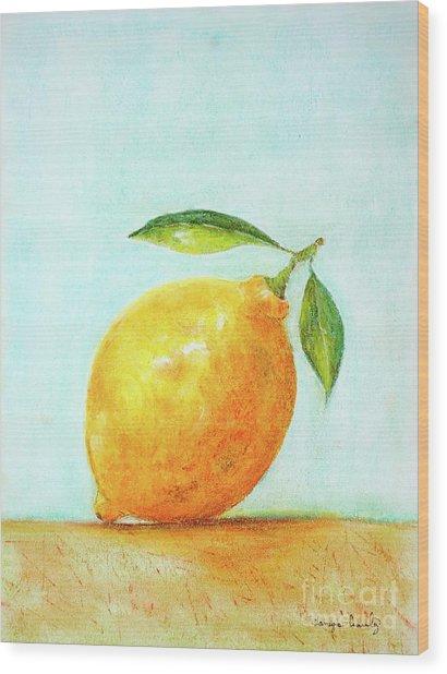 When Life Gives You Lemons Wood Print