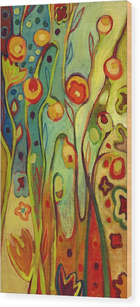 Where Does Your Garden Grow Wood Print