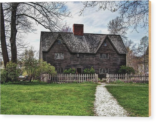 The John Whipple House In Ipswich Wood Print