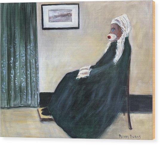 Whistlin Mother Wood Print