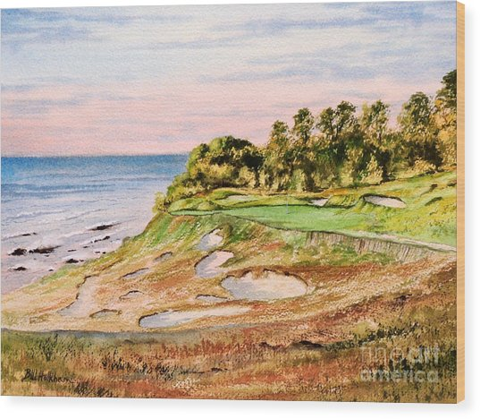 Whistling Straits Golf Course 17th Hole Wood Print