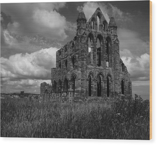 Whitby Abbey, North York Moors Wood Print