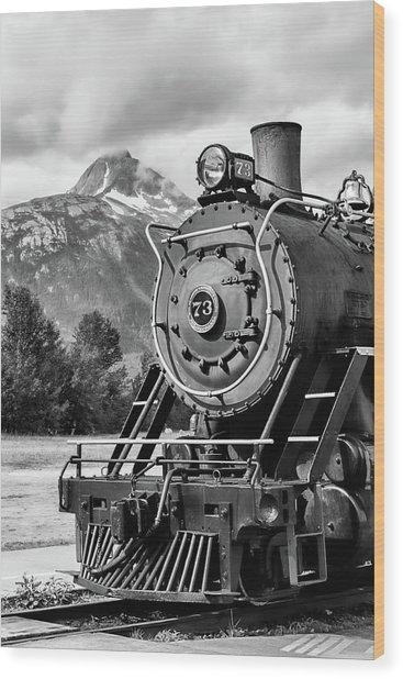 White Pass Railway Engine 73 Wood Print