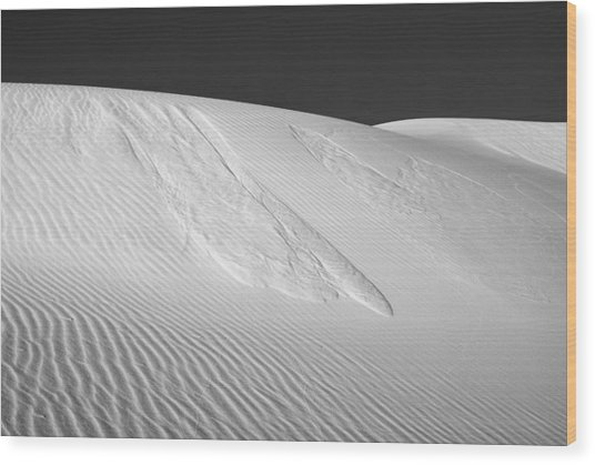 White Sands 2 Wood Print