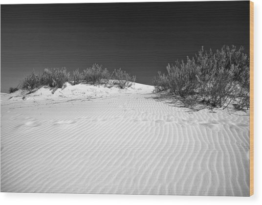 White Sands 5 Wood Print