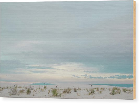 White Sands National Park Wood Print