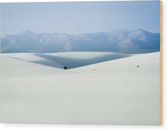 White Sands, New Mexico Wood Print