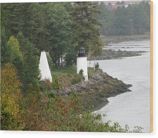 Whitlock Mill Lighthouse Wood Print