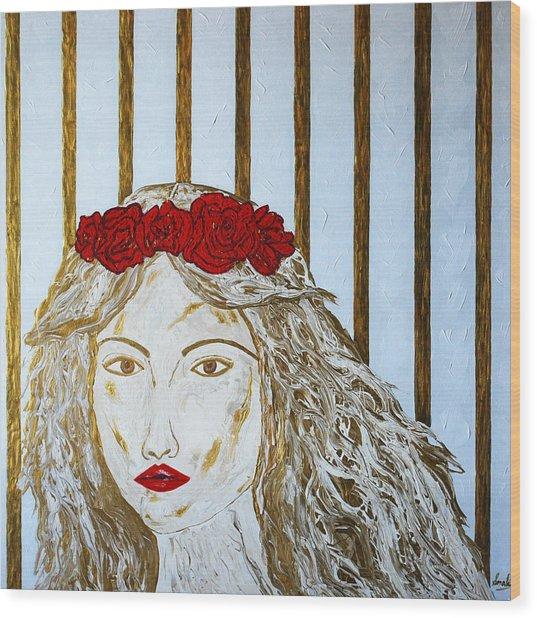 Who Is She? Wood Print