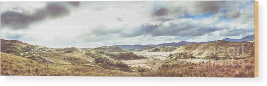 Wide Open Country Australia Wood Print