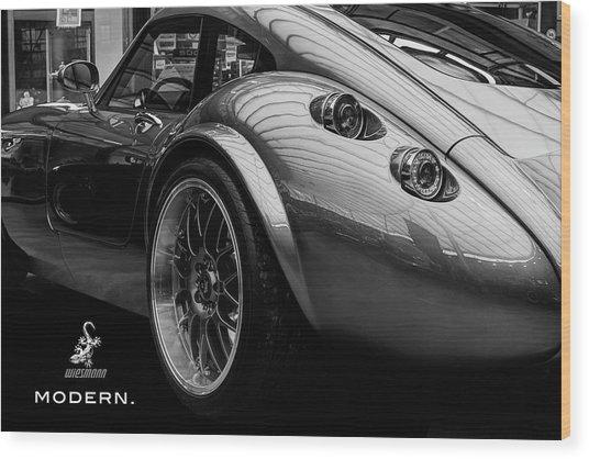 Wiesmann Mf4 Sports Car Wood Print