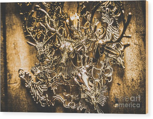 Wild Abundance Wood Print