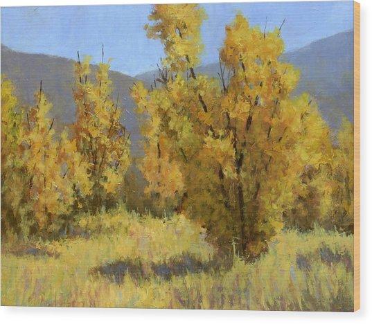 Wild Autumn Wood Print