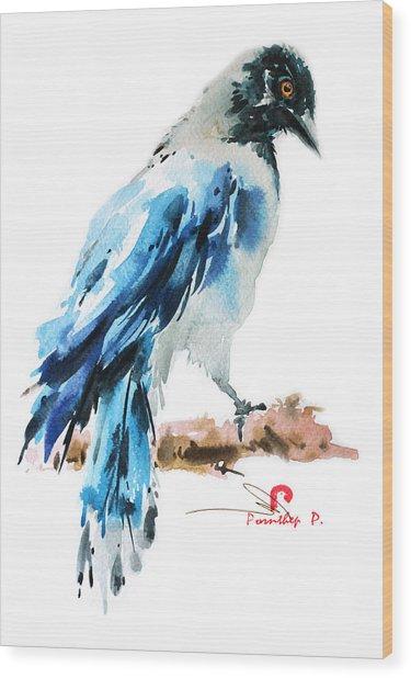 Wild Bird Painting 2 Wood Print