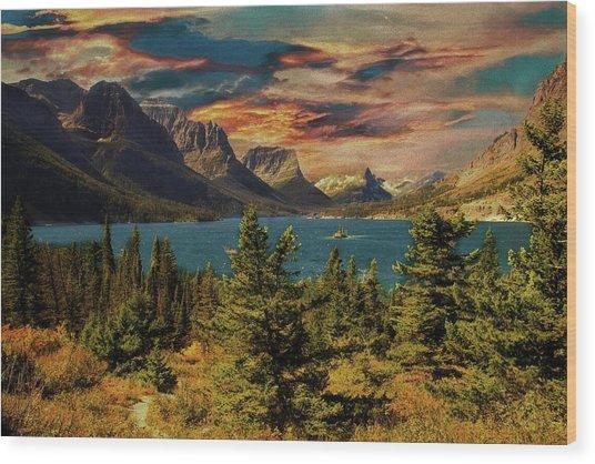 Wild Goose Island Gnp. Wood Print
