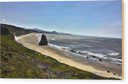 Wild Rivers Coast Wood Print