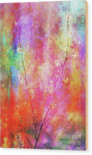 Wild, Wild, Witch Hazel Wood Print
