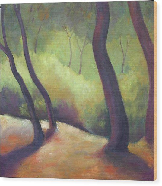 Wildcat Woods Wood Print