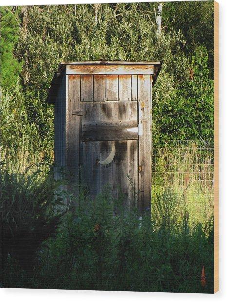 Wilderness Bathroom Wood Print