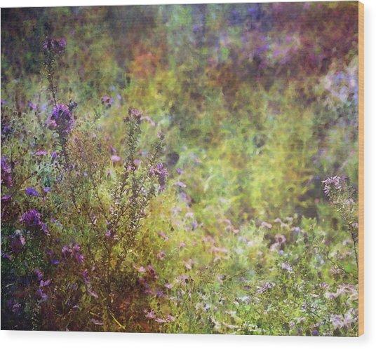 Wildflower Garden Impression 4464 Idp_2 Wood Print