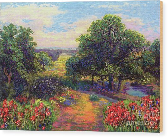 Wildflower Meadows Of Color And Joy Wood Print