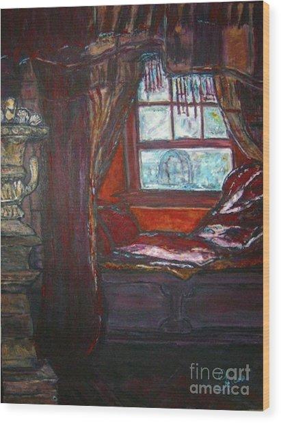 Wilhelmina's Windowseat Wood Print