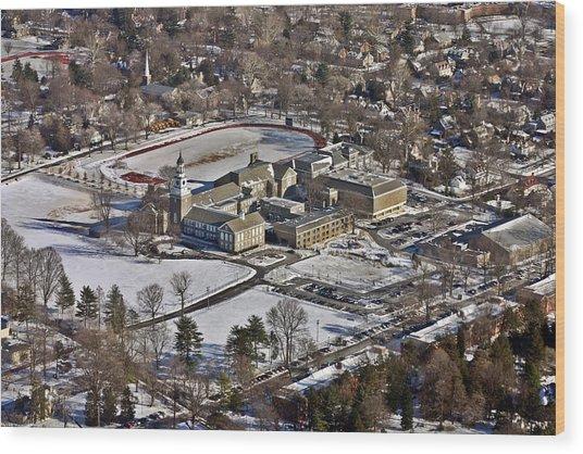 William Penn Charter School 3000 West School House Lane Philadelphia Pa 19144 5412 Wood Print by Duncan Pearson