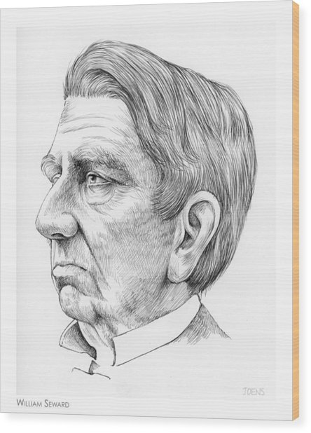 William Seward Wood Print