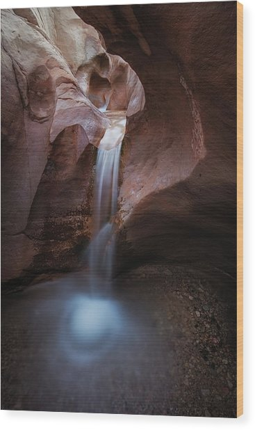 Willis Creek Fall Wood Print