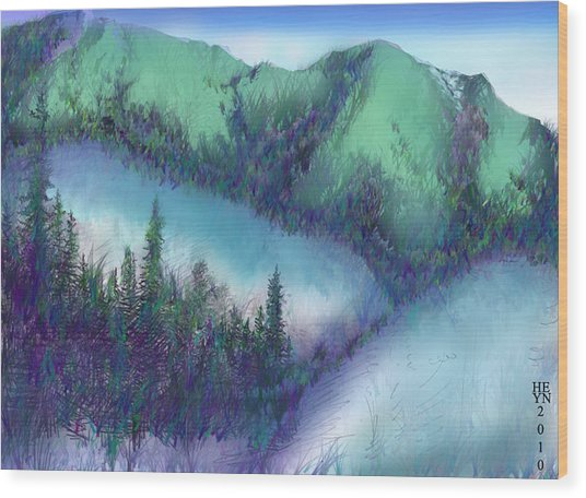 Wilmore Wilderness Area Wood Print