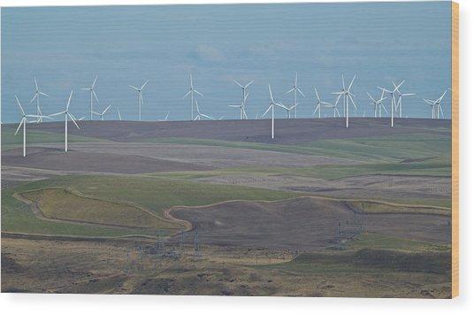Wind Power 10 Wood Print