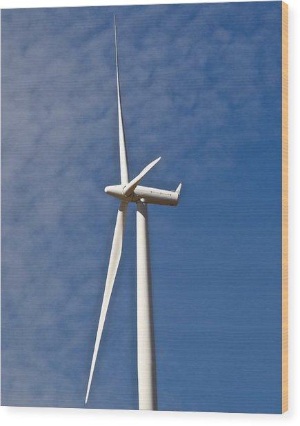 Wind Power 3 Wood Print